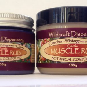 MUSCLE RUB Natural Herbal Ointment