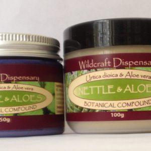 NETTLE AND ALOES Natural Herbal Ointment
