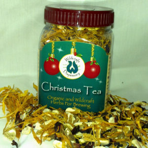Christmas Herb Tea - Hibiscus. Cinnamon. Calendula. Sweet Orange Peel.